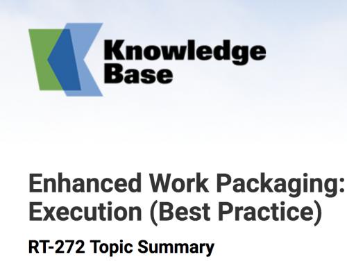 AWP – Advanced Work Packaging